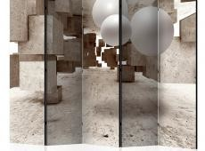 Paraván - Concrete Maze II [Room Dividers]